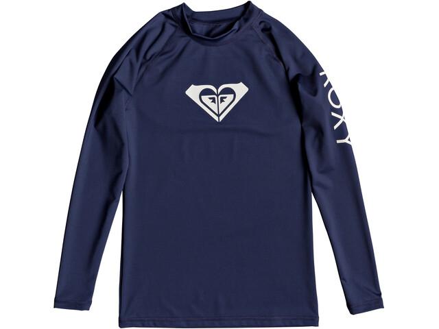 Roxy Whole Hearted - T-shirt manches longues Femme - bleu
